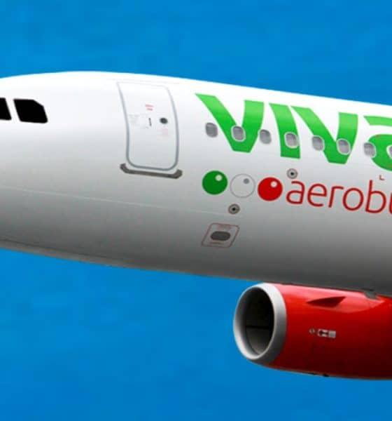 Viva Aerobus aviones de carga a Tabasco. Foto: Archivo