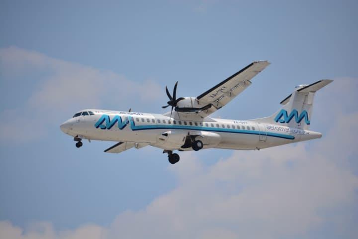 Vive la nueva ruta de Aeromar México - Morelia. Foto: Aviación 21