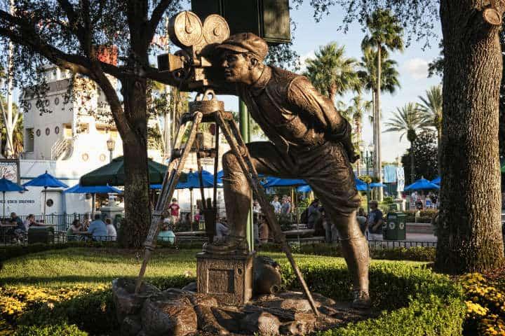Young Walt comes to Hollywood. Foto Jonathan