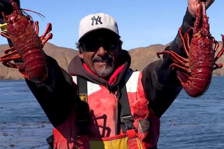 Con la pesca en Baja California Sur podrás obtener langosta. Foto: Archivo