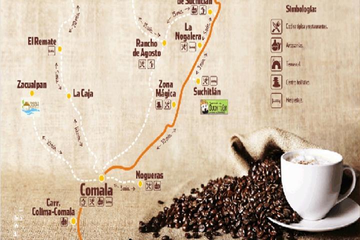 ruta del café- Pinterest