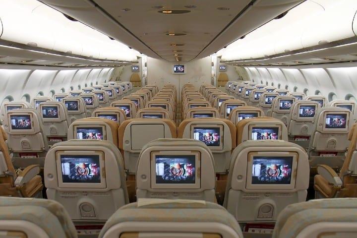 Conoce el interior de un avión de Etihad Airways. Foto: 50 sky shades