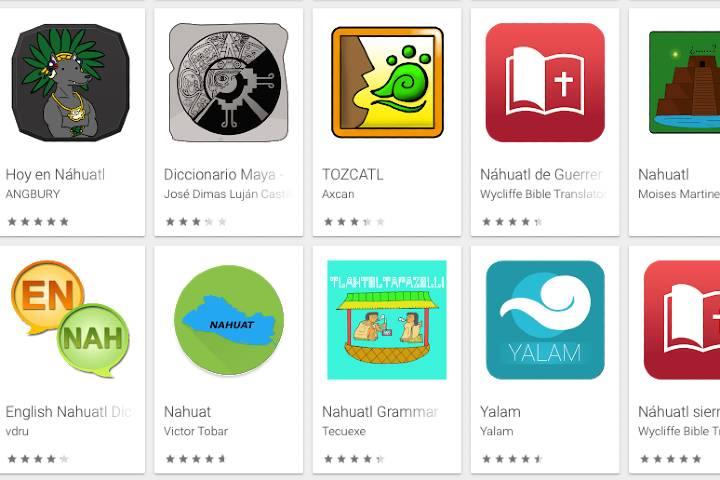 Aplicaciones sobre lenguas y dialectos - Imagen Playstore