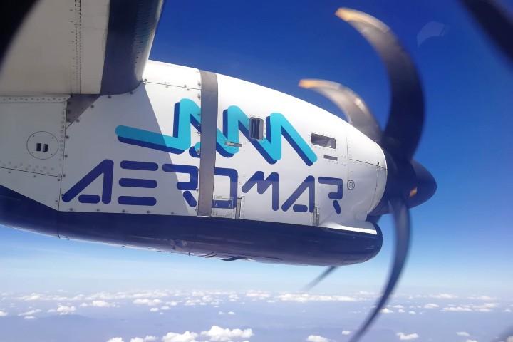 Avión ATR Aeromar Foto Julio García Castillo 1