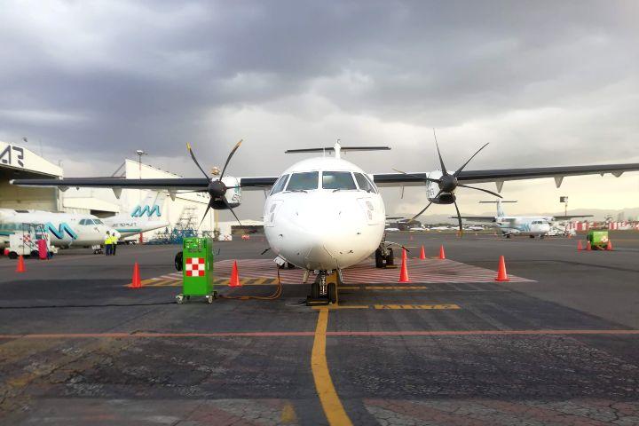 Avión ATR Aeromar Foto Julio García Castillo 15