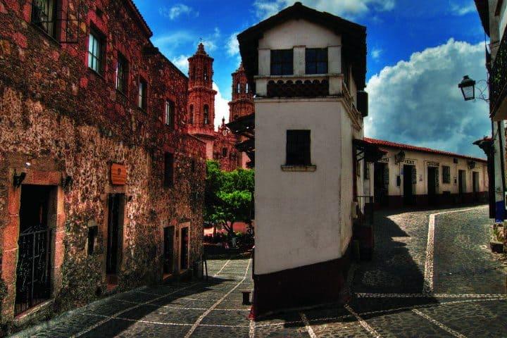 Calles de Taxco. Foto. Pueblos Mágicos de México