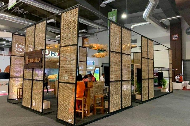 ¿Cómo se hizo el mejor stand del tianguis turístico?. Foto Aldo Gutiérrez - Adixion Travel