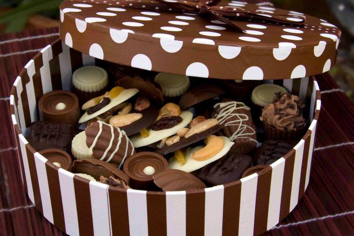 Por que regalar chocolates Foto: Blogspot