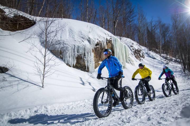 Cicloturismo en Canadá Foto: Vélo Mag