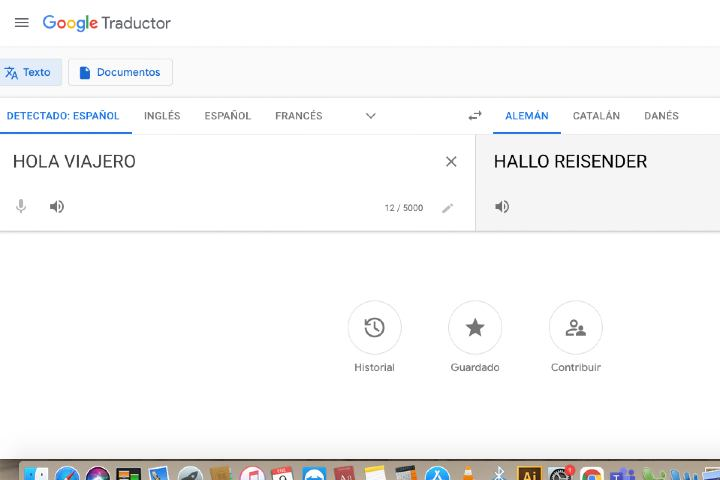 Google translate - Foto Luis Juárez J.