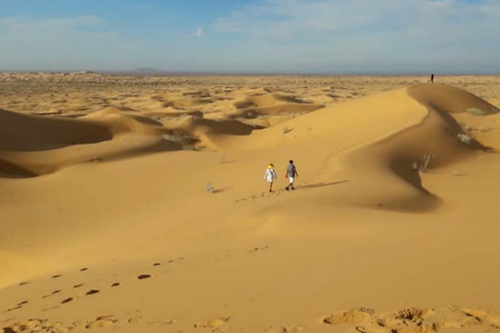 Gran desierto del altar Foto Turismo Taruk