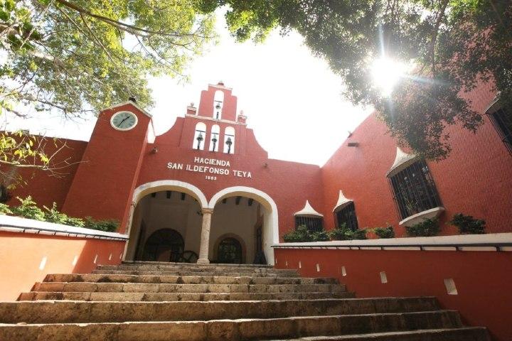 Hacienda San Ildefonso Teya. Foto. Grupo Leembal