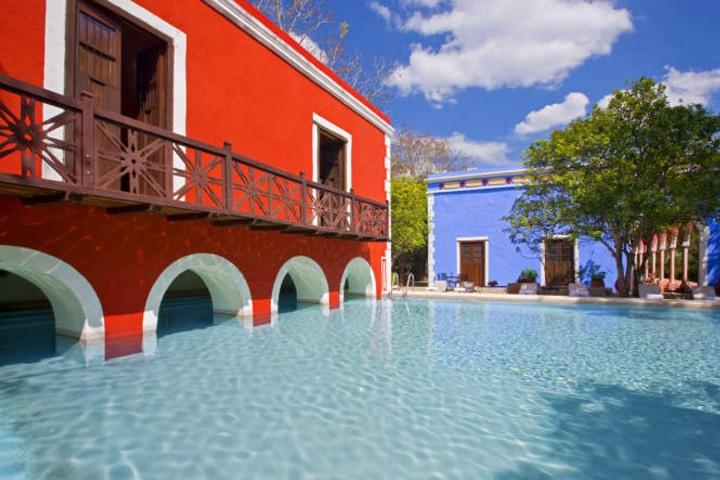 Recorrido por las haciendas Yucatecas, Hacienda Santa Rosa. Foto. María G Pinterest