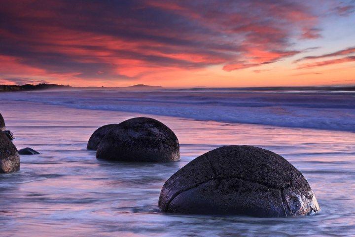 Piedras-gigantes-en-Koekohe-Nueva.-Foto.-Archivo-Zelanda.-Foto.-