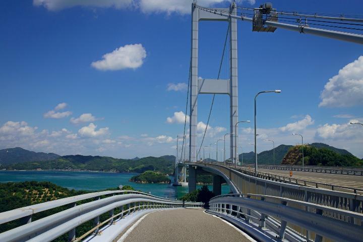 Shimanami Kaido, la ciclovía de Japón. Foto vr4msbfr