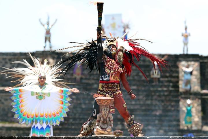 Teotihuacan. Foto. Posta