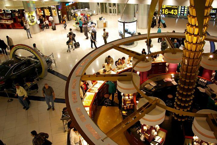 Aeropuerto Internacional de Dubái. Foto Nao Iizuka