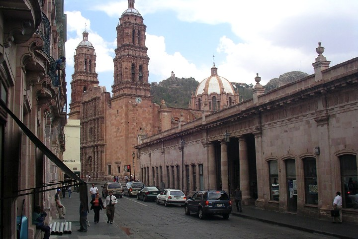 Arquitectura de las iglesias de Zacatecas. Foto Marco Paköeningrat