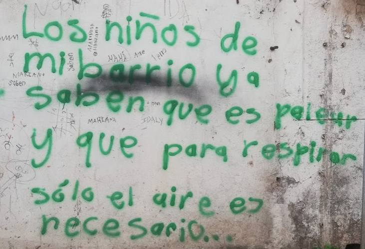 El arte urbano de La Huaca – Foto Luis Juárez J