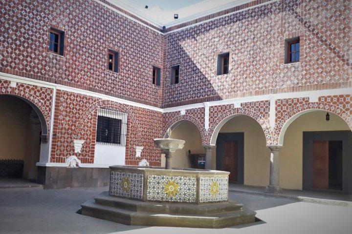 Ex convento de Santa Mónica. Foto: la jornada de Oriente
