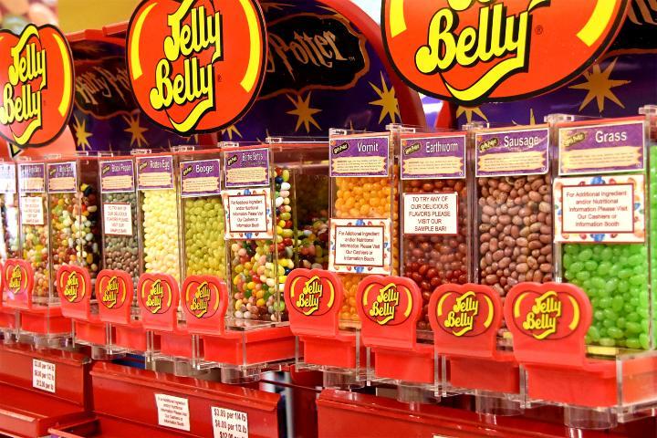 Fábrica Jelly Belly en California, Estados Unidos. Foto James_Seattle