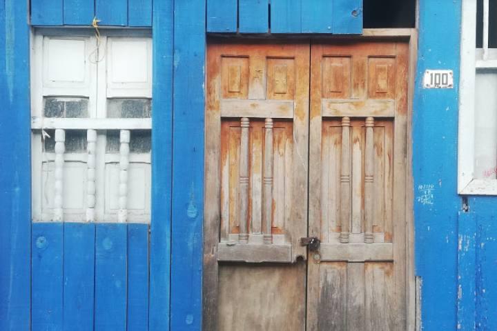 Fachadas de las vecindades – Foto Luis Juárez J