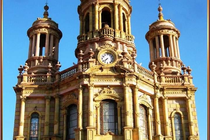 Templo de San Antonio de Padua en Aguascalientes Foto: Flickr