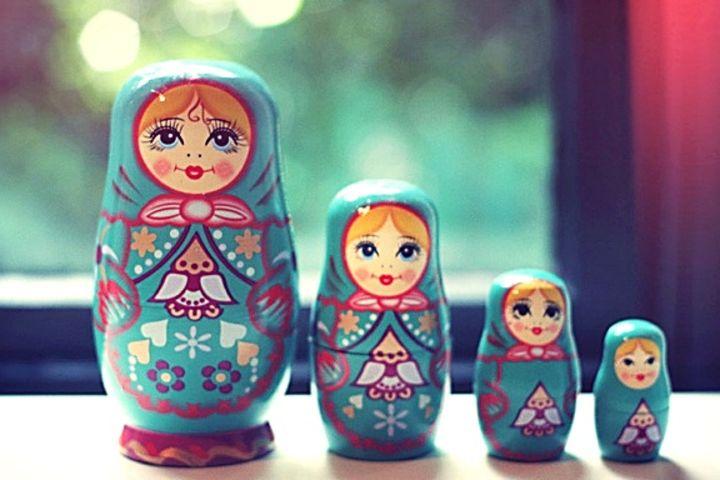 La matrioshka el souvenir de Rusia Foto: Lacooltura