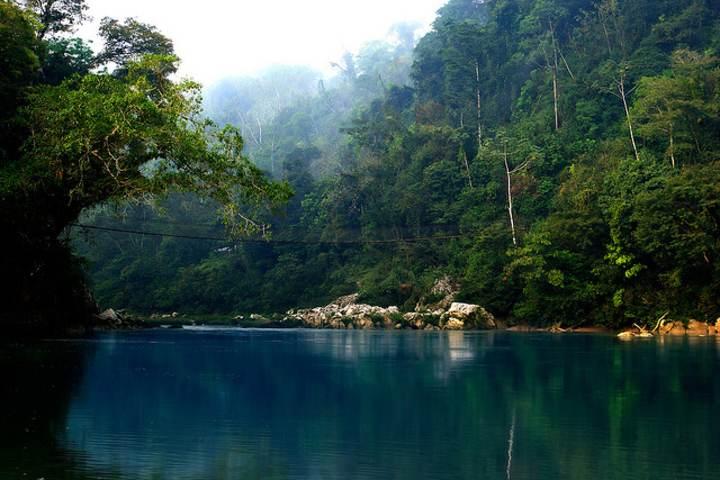 Agua Clara en Chiapas Foto: Todo Chiapas
