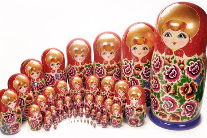La matrioshka el souvenir de Rusia Foto: WordPress