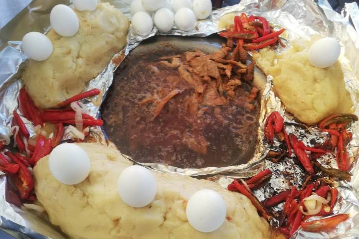Gastronomía de Tecali de Herrera – Foto Luis Juárez J.