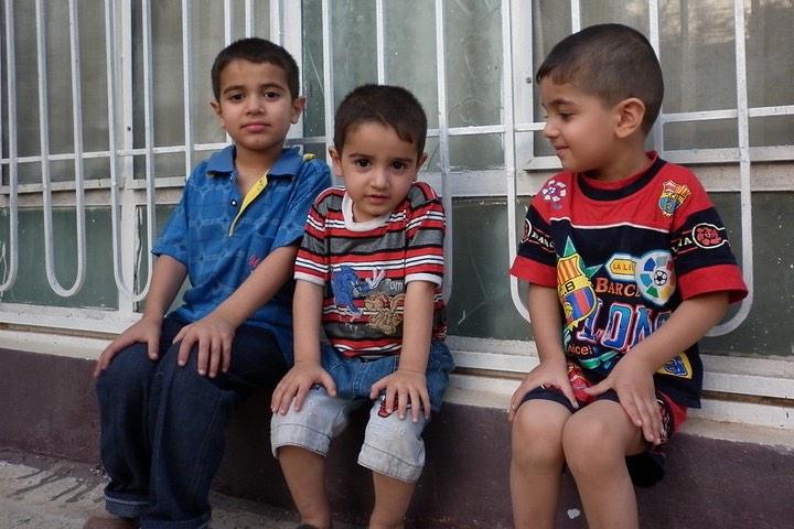 Niños. Foto: hussein aumran