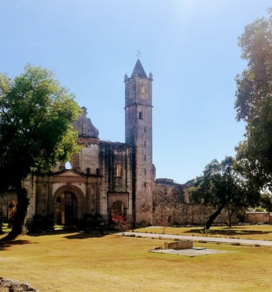 PORTADA Ex Convento de Tecali de Herrera- Foto Luis Juárez J.