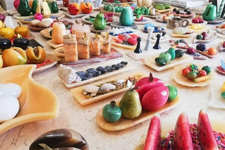 Productos y artesanías – Foto Luis Juárez J.