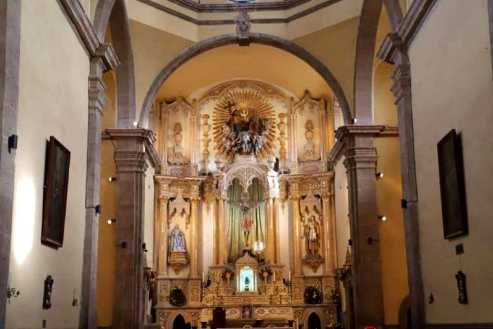 Arquitectura de las iglesias de Zacatecas. Santuario de Zacatecas Foto: Grupo en Concreto