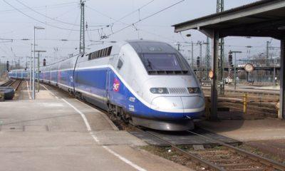 Aborda el TGV, el tren más rápido de Francia y el mundo. Foto: Archivo
