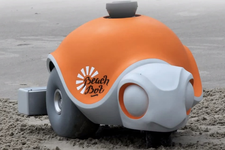 BeachBot. Foto por TechCrunch