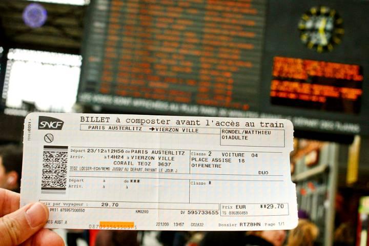 ¿Estás listo para viajar en el tren TGV de Francia? Foto: Polrail