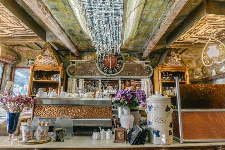 El Budapest Café Cukrászda de la Condesa ¡Te enamorará! Foto: Archivo