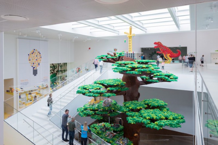 Casa Lego en Dinamarca. Foto: Experimenta