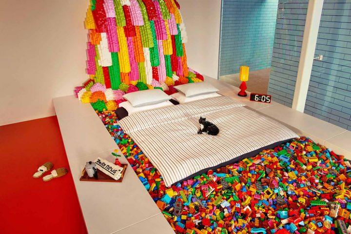 Casa Lego en Dinamarca. Foto: Traveler