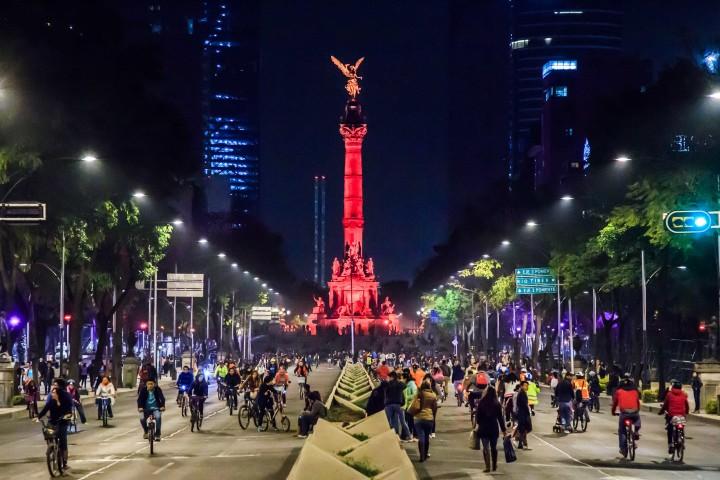 Ángel de la Independencia de la Ciudad de México. Foto: Archivo.