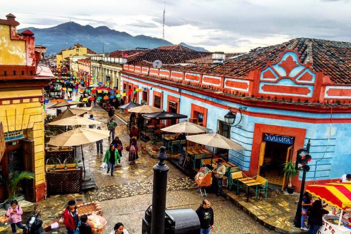 DAY 33, SAN CRISTÓBAL DE LAS CASAS, CHIAPAS, MEXICO. Foto: travel_low_cost via Instagram