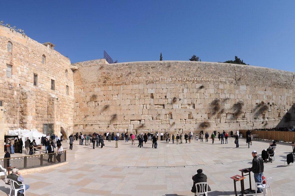 El Muro de los Lamentos ha sido vista do aún durante la pandemia. Foto: Archivo