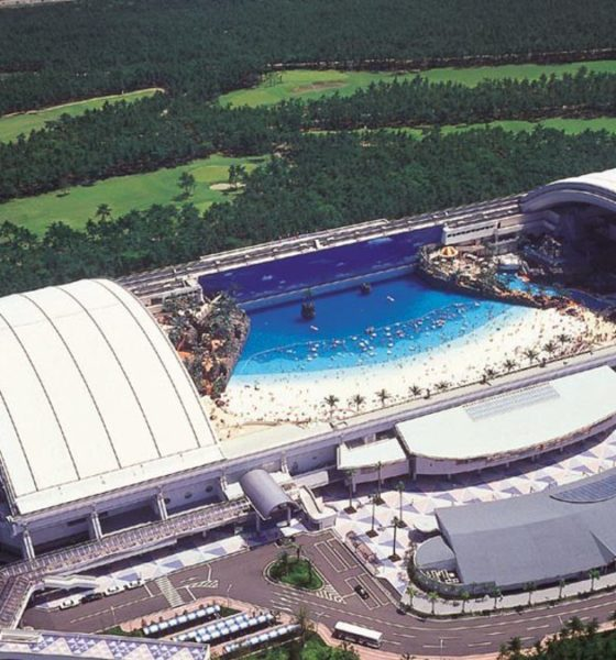 Seagaia Ocean Dome, Japón. Foto: Archivo