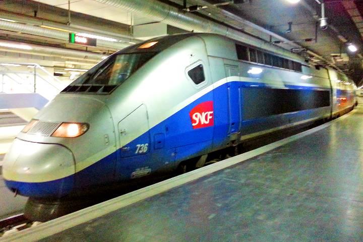 Este es el tren más rápido de Francia. Foto: Archivo