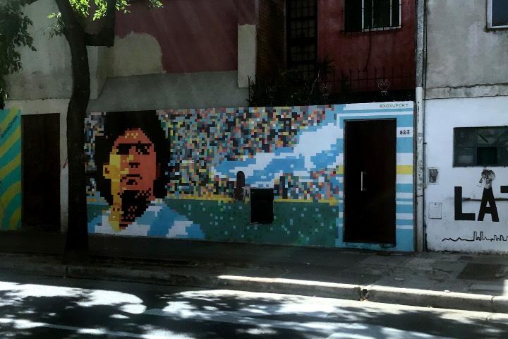 En Buenos Aires hay sitios imperdibles si eres un amante del fútbol tendrás que visitarlos. Foto: Vera Celentano Venturini