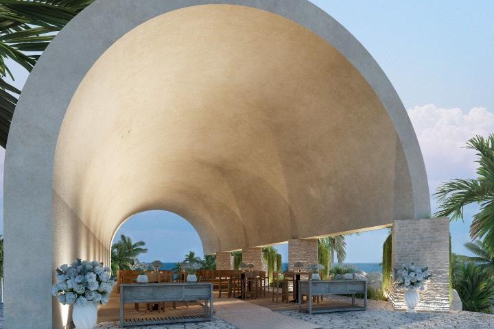 En la capilla podrás realizar distintas ceremonias. Foto: Hotel Xcaret Arte