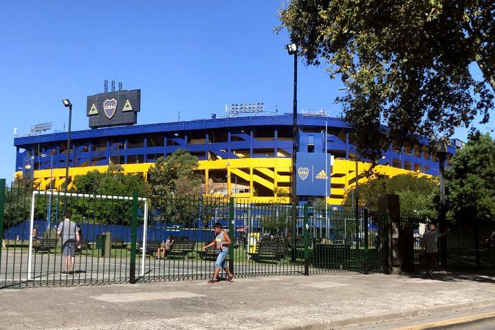 Estadio La Bombonera de Boca Juniors. Foto: Vera Celentano Venturini