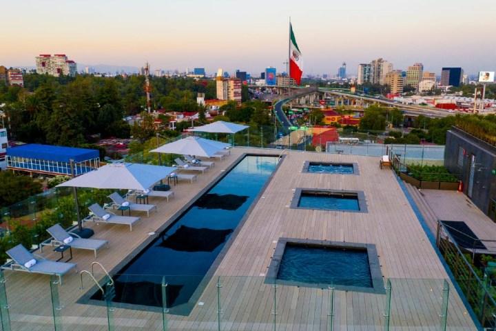 Vista desde el hotel de Grupo Brisas. Foto: ACIR Online
